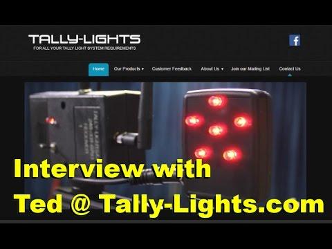 Using Tally Lights with VidBlaster