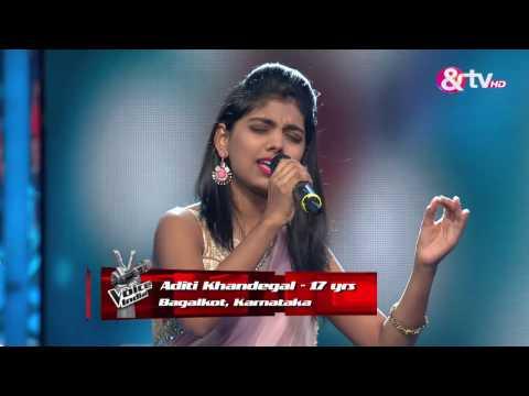 Nirvesh Dave & Aditi Khandegal - Tere Mere Milan Ki Yeh Raina  | Battle Round | The Voice India 2