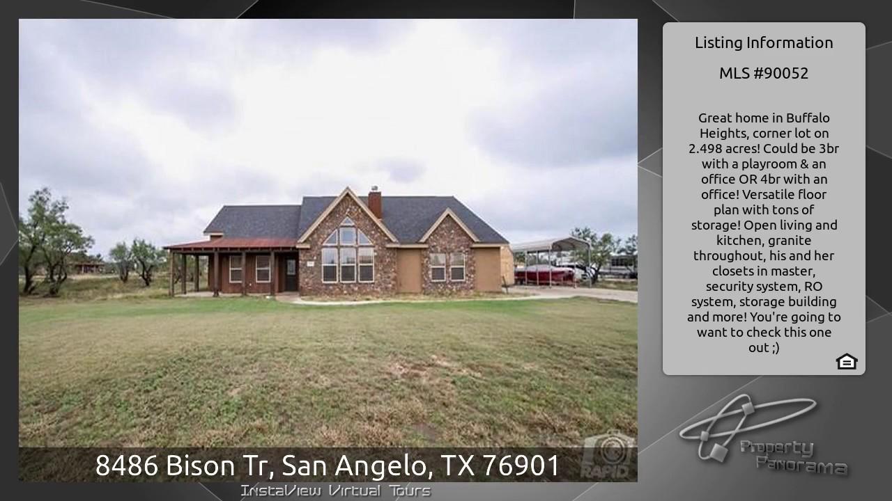8486 Bison Tr, San Angelo, TX 76901