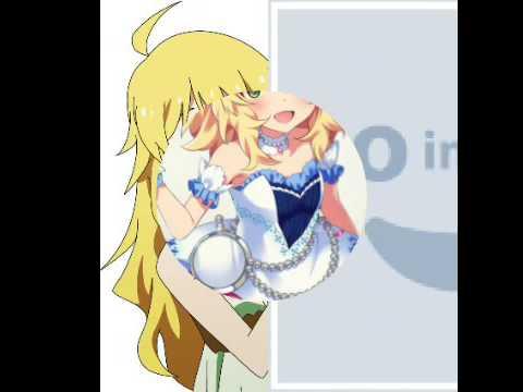 Картинки девушек из аниме Идолмастер