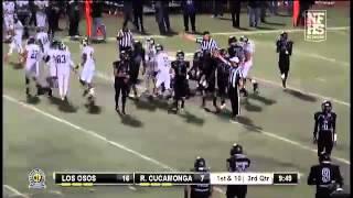 Football Recap: Los Osos vs. Rancho Cucamonga