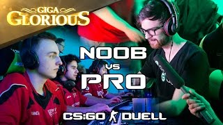 Noob vs. Pro - Das CS:GO-Duell - GIGA Glorious - GIGA GAMES