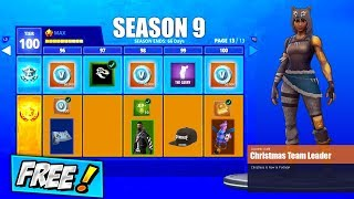 How To Get SEASON 9 BATTLE PASS For *FREE* | Fortnite Season 9 FREE Skins & LEAKED RELEASE DATE