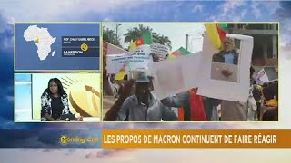 Cameroon: protests greet Macron's criticism [The Morning Call]