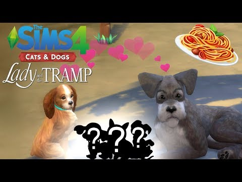 Lady And The Tramp S Puppies Sims 4 Create A Pet And Genetics Youtube