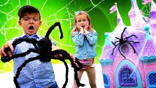 Видео игры - Супер Детки и гости на детской площадке! – Шоу онлайн про Школу Супергероев.