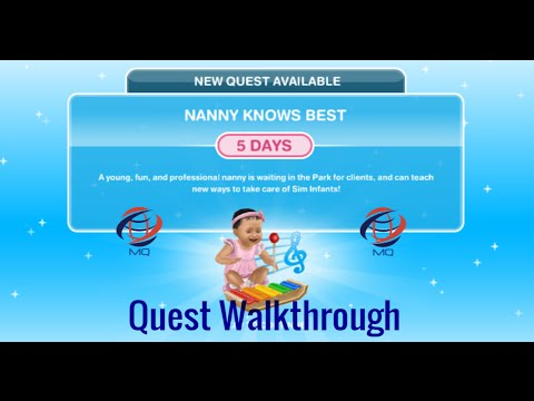 The Sims FreePlay - Nanny Knows Best Discovery Quest (Walkthrough)