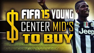 "Fifa 15 career mode - young center midfielders you should buy! - ""fifa 15"" (fifa 15 career mode)"