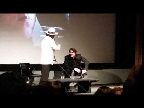 Jackie Chan singing in the BFI