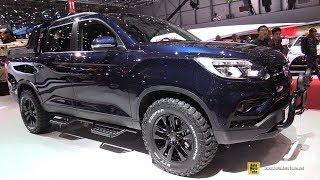 2019 Ssang Yong Musso - Exterior And Interior Walkaround - 2018 Geneva Motor Show