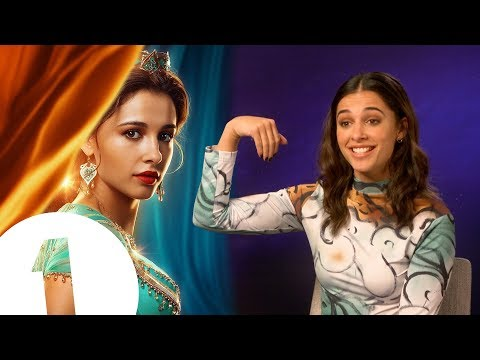 """So... I'm Jasmine!"" Aladdin's Naomi Scott on meeting Will Smith and the art of magic carpet riding Mp3"