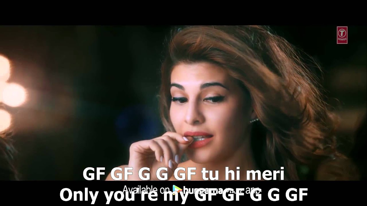 gf bf video song sooraj pancholi, jacqueline fernandez english