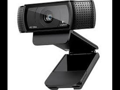 Logitech C920 Webcam cable repair Taking Apart - YouTube