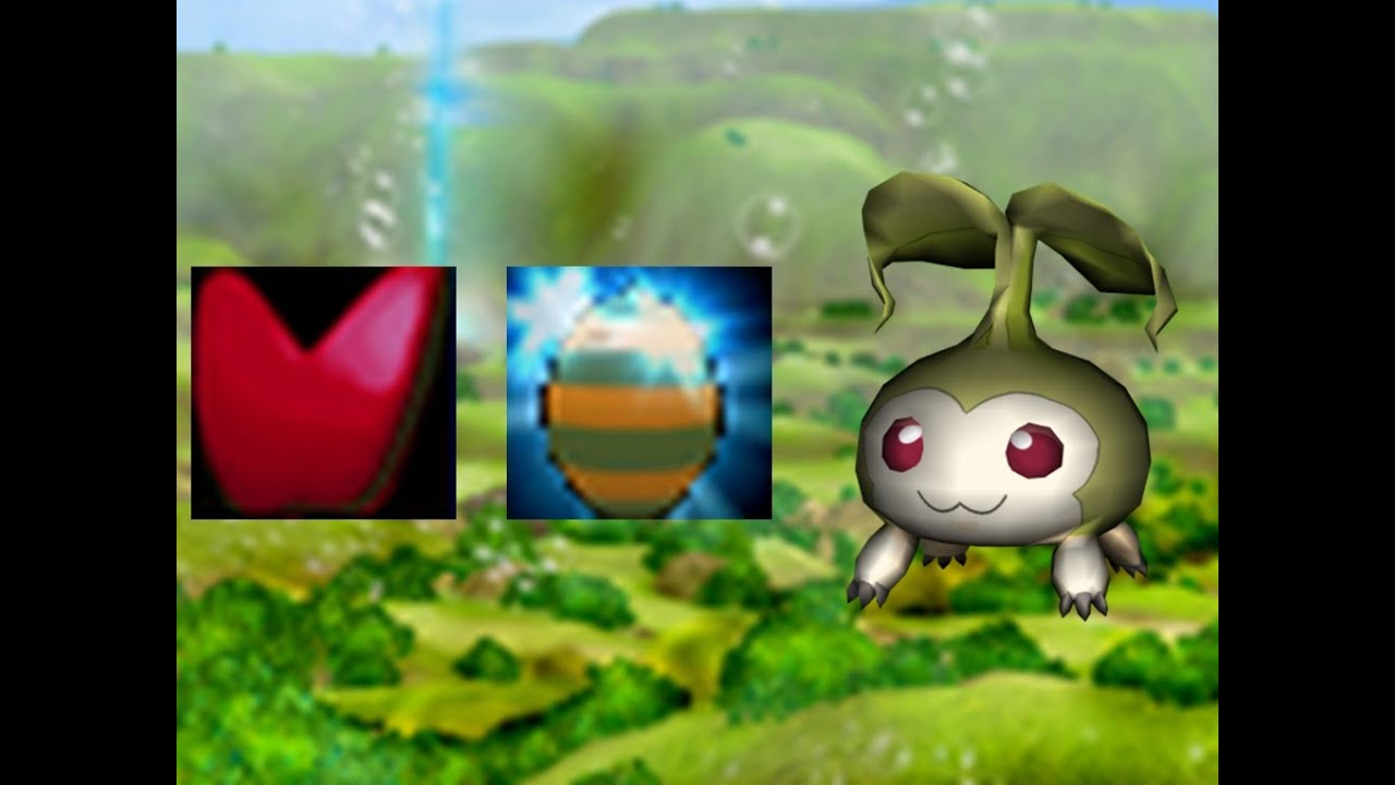 Tanemon in green zone digimon masters online clipzui negle Images