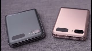 Samsung Galaxy Z Flip 5G Official First Look Hands On LEAKED !!