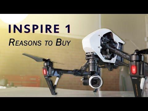 DJI Inspire : Features, First Impressions, vs Phantom 3
