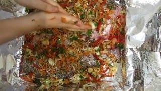 видео Как приготовить леща в духовке вкусно