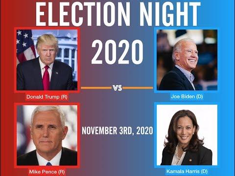 Election Night 2020   Donald Trump vs Joe Biden