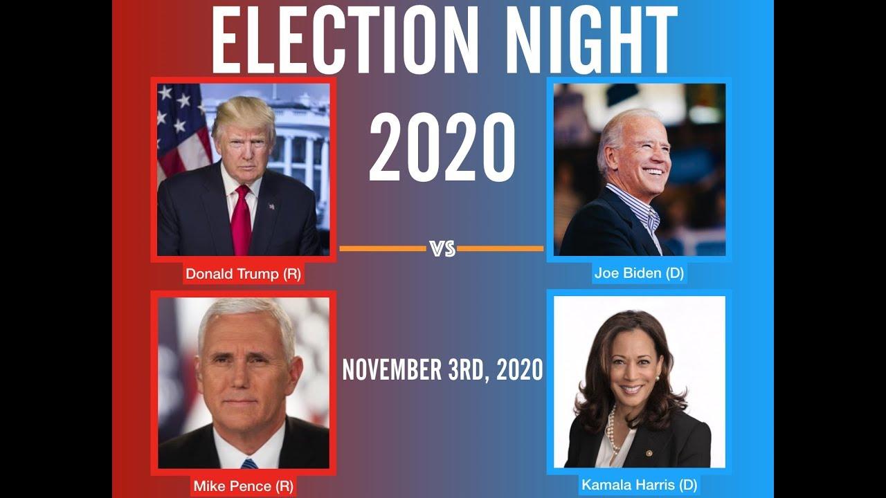 Election Night 2020 | Donald Trump vs Joe Biden - YouTube