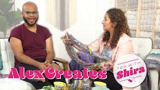 Handspun Yarn and Hand Thrown Yarn Bowls! - Tea with Shira #66