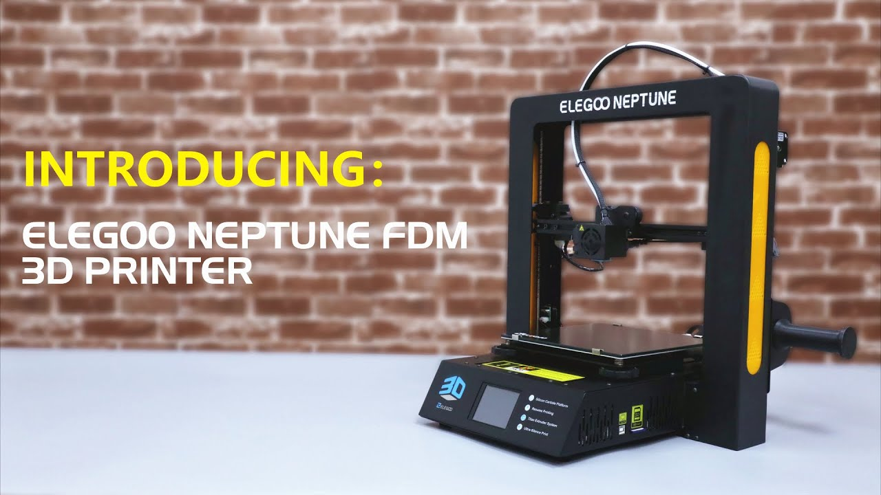 video ELEGOO Neptune 3D Printer