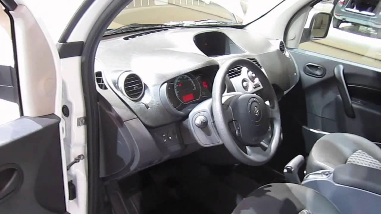 Renault kangoo z e interior renault kangoo ze for Renault 6 interieur