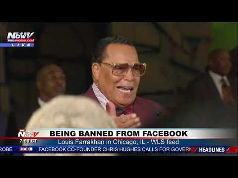 facebook-ban-rally:-louis-farrakhan-in-chicago,-il
