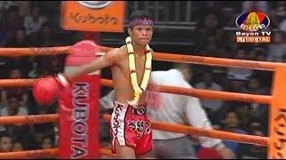 Sok Rith vs Sennapha(thai), Khmer Boxing Bayon 11 May 2018, Kun Khmer vs Muay Thai