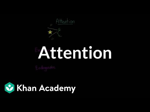 Divided attention, selective attention, inattentional blindness, & change blindness | Khan Academy
