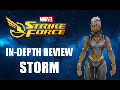 Storm 7 Star In-Depth Review - Marvel Strike Force