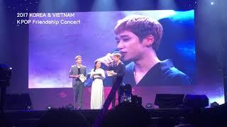 한국&베트남 우정의 KPOP콘서트 _틴탑의 MC와 인터뷰 (feat. 평창 홍보 vietnam)