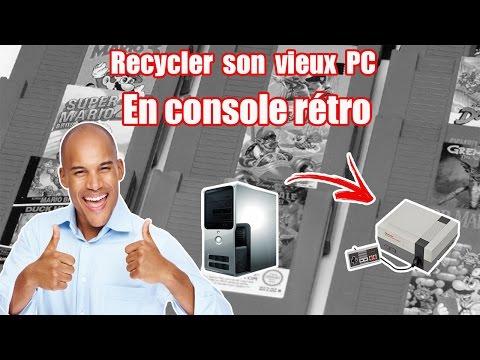 Comment faire une console rétro avec un ancien PC ?