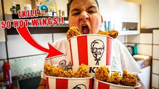 😍 FORTNITE PRO KILL 50 KFC HOT WINGS