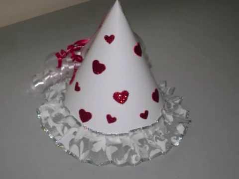 Como hacer un lindo sombrero de princesa - manualidadesconninos ... 0bb3aaea5a4