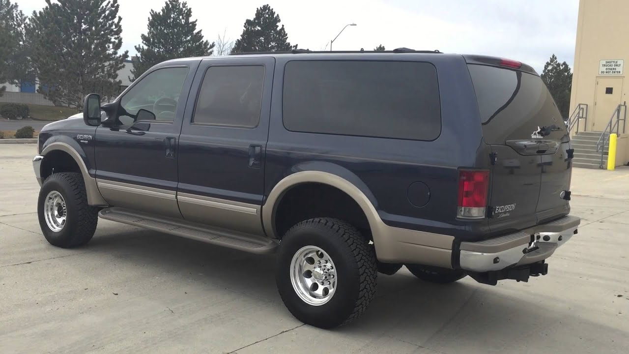 WWW.DIESEL-DEALS.COM LIFTED 2002 FORD EXCURSION LIMITE 4X4 ...