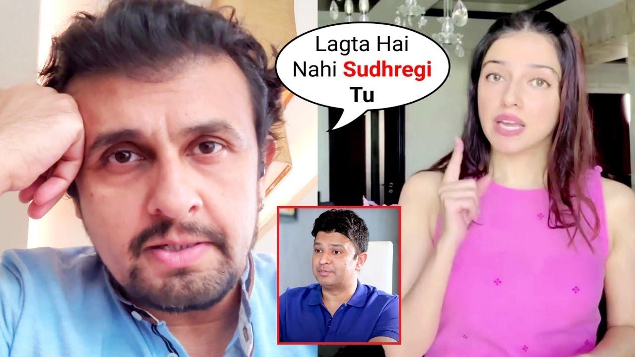 Sonu Nigam Reply To Divya Kumar Khosla Bhushan Kumar Salman Khan