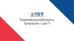 Testosterone Deficiency Symptoms—Low T