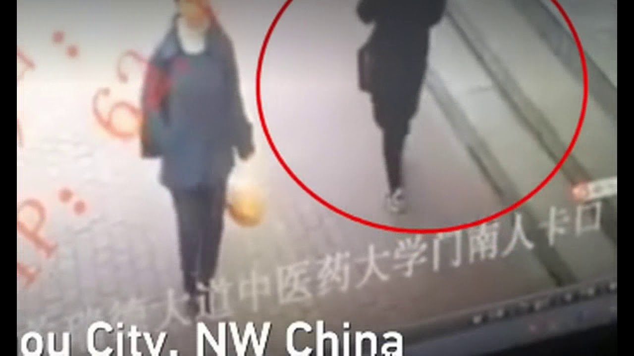 Sinkhole Swallows Woman On Sidewalk In China