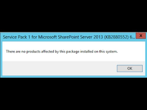service pack 2 office 2010 installation failed