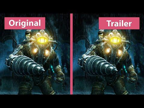 BioShock 2 – PC Original vs. The Collection Remaster Trailer Graphics Comparison