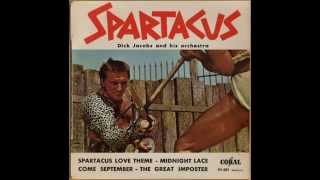 DICK JACOBS ORCHESTRA - SPARTACUS LOVE THEME - EP CORAL 94 601