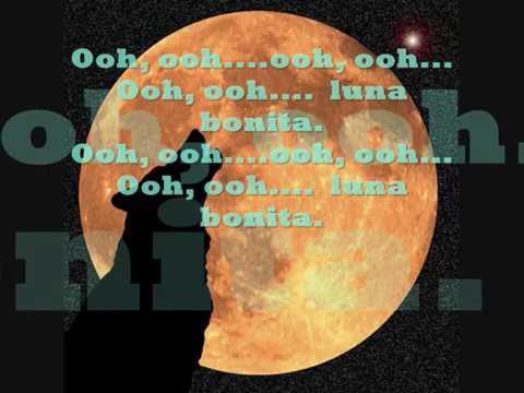 Luna bonita lyrics