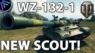 WZ-132-1 New Tier 10 Light Tank!