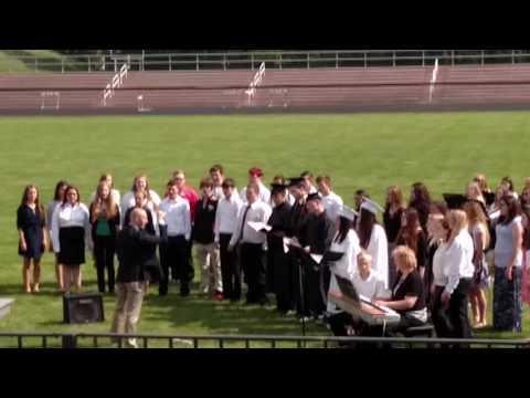 Newcomerstown High School Graduation 05 22 2016 02 Choir