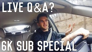 Live Q+A? What Do You Want To Know? 6000 Subs!