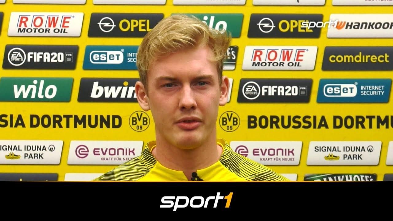 """""""Bitte halt die Schnauze"""": Julian Brandt scherzt mit Marco Reus"""