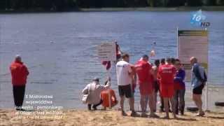 X Mistrzostwa województwa kujawsko-pomorskiego w ratownictwie wodnym, Sępólno Kraj., 14.06.2014 r.