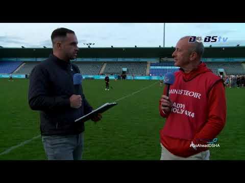 Cuala manager John Twomey speaks to DubsTV after Quarter Final win over Ballyboden St Endas