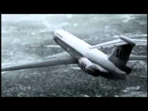Scandinavian Air 751 crash Animation