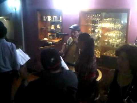 En casa de Luz Maina Maza de Chiossone 2011 (grabado con BB)